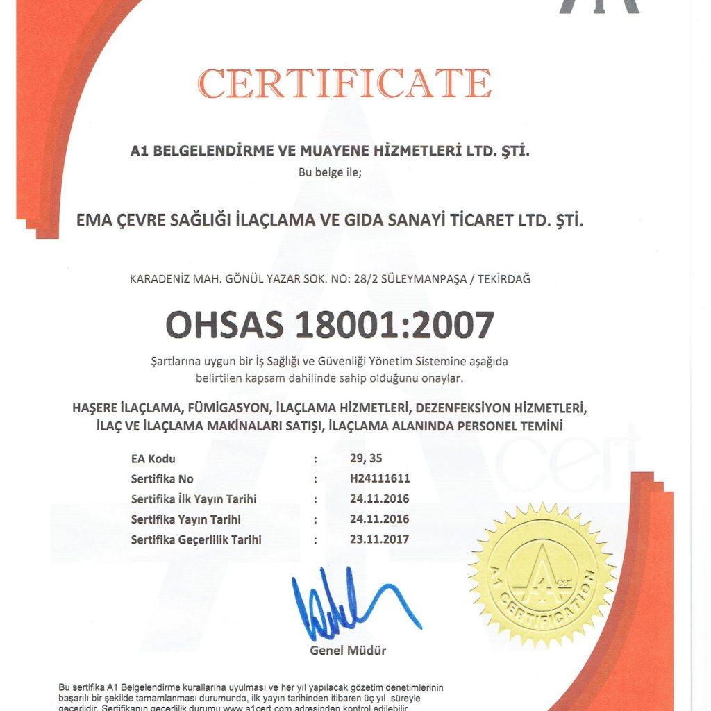 OHSAS 18001:2004
